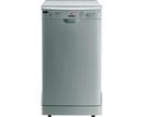 Hoover Inox Slimline Dishwasher - HEDS1068X