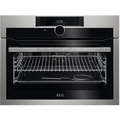 A.E.G. 45cm Built In Compact Electric Single Oven - KPE842220M