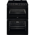 A.E.G. 60cm Double Oven Electric Cooker - CCS6730ACB