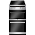 Amica 50cm Double Oven Electric Cooker - AFC5100SI