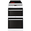 Amica 50cm Double Oven Electric Cooker - AFC5550WH