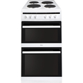 Amica 50cm Double Oven Electric Cooker - AFS5500WH