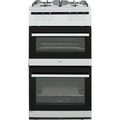 Amica 50cm Twin Cavity Gas Cooker - AFG5100WH