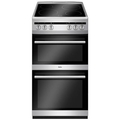 Amica 50cm Twin Cavity Electric Cooker - AFC5100SI