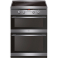 Amica 60cm Double Oven Induction Cooker - AFN6550SS