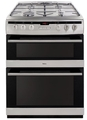 Amica 60cm Double Oven Gas Cooker - AFG6450SS