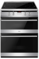 Amica 60cm Double Oven Induction Cooker - AFN6550MB