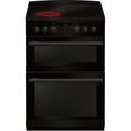 Amica 60cm Double Oven Electric Cooker - AFC6550BL