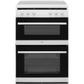 Amica 60cm Double Oven Electric Cooker - AFC6520WH