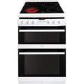 Amica 60cm Double Oven Electric Cooker - AFC6550WH