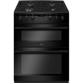 Amica 60cm Double Oven Gas Cooker - AFG6450BL
