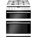 Amica 60cm Double Oven Gas Cooker - AFG6450WH