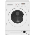Amica 8kg, 1400 Spin Integrated Washer Dryer - AWDT814S