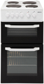 Beko 50cm Twin Cavity Electric Cooker - BD531AW