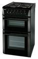 Beko 50cm Twin Cavity Electric Cooker - BD533AK
