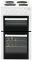 Beko 50cm Twin Cavity Electric Cooker - BD533AW