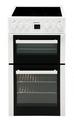 Beko 50cm Twin Cavity Electric Cooker - BDC545AW