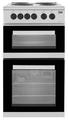 Beko 50cm Twin Cavity Electric Cooker - KD533AS