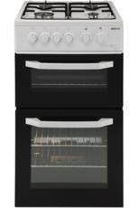 Beko 50cm Twin Cavity Gas Cooker - BDG581NW