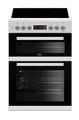 Beko 60cm Double Oven Ceramic Cooker - KDC653W