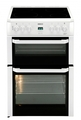 Beko 60cm Double Oven Electric Cooker - BDVC664W