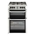 Beko 60cm Double Oven Gas Cooker - BDVG694SP