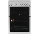 Beko 60cm Double Oven Gas Cooker - XTG611S