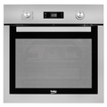 Beko 60cm Fan Assisted Pyro Single Oven - BIE26300XP