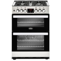 Belling 60cm Double Oven Dual Fuel Cooker - COOKCENTRE 60DF SS