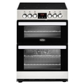 Belling 60cm Double Oven Electric Cooker - COOKCENTRE 60E SS