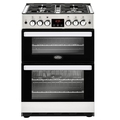 Belling 60cm Double Oven Gas Cooker - COOKCENTRE 60G SS