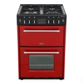Belling 60cm Double Oven Gas Cooker - FARMHOUSE 60G HJA