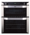 Belling 70cm Built Under Gas Double Oven - BI70GSTA