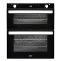 Belling 72cm Built Under Gas Double Oven - BI702GBLK