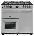 Belling 90cm Dual Fuel Range Cooker - FARMHOUSE 90DFT STA