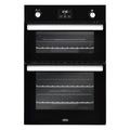 Belling 90cm Built In Gas Double Oven - BI902GBLK
