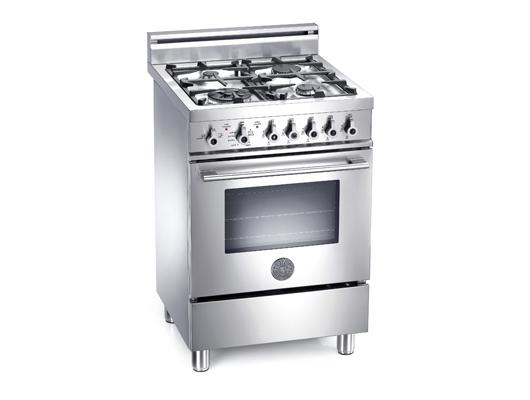 Bertazzoni 60cm Dual Fuel Range Cooker X60 4 Mfe X