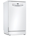 Bosch Serie 2 SPS2IKW04G Freestanding Slimline Dishwasher with Home Connect, White