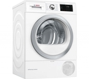 Bosch WTWH7660GB Condenser Tumble Dryer with Heat Pump - White