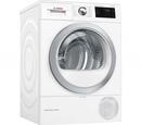 Bosch WTWH7660GB Condenser Tumble Dryer with Heat Pump - White