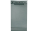 Candy Silver Slimline Dishwasher - CDP4610S