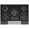 Caple 5 Burner Gas on Glass Hob