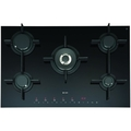 Caple 5 Burner Touch Control Gas-On-Glass Hob