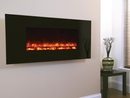 Celsi Electricflame Wall Mounted Electric Fire - EFH13BGRE (1300 Black Glass)