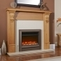 Celsi Electriflame Hearth Mounted Electric Fire - EF22OHBRE