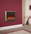 "Celsi Electriflame Oxford 22"" Wall Mounted Inset Electric Fire - EF22OWBRE2"