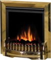 Dimplex Inset Optiflame Electric Fire - EBY15BR (Exbury Brass)