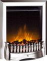 Dimplex Inset Optiflame Electric Fire - EBY15CH (Exbury Chrome)