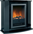 Dimplex Mozart Black Optiflame Electric Suite - MZT20BL (Mozart)