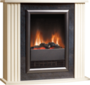 Dimplex Mozart Cream Optiflame Electric Suite - MZT20 (Mozart)